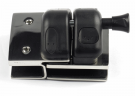 Glass Pool Gate Latch / Lock (Glass-to-Glass In-line)